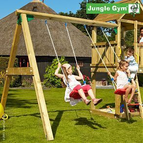 Дополнительный модуль качели JUNGLE GYM SWING (с сидениями)